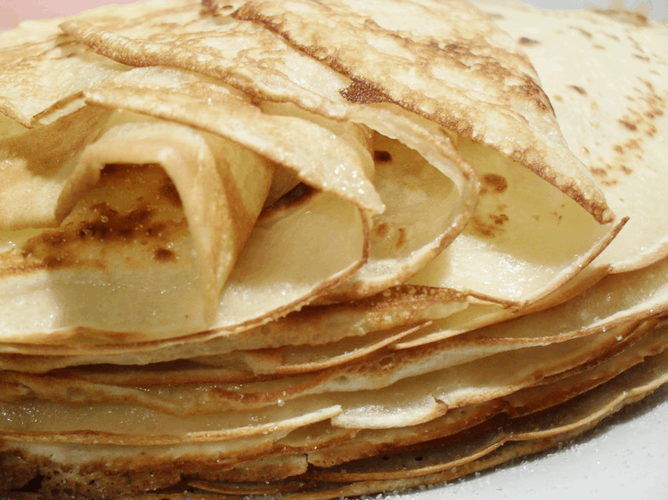Crêpes alternatives !